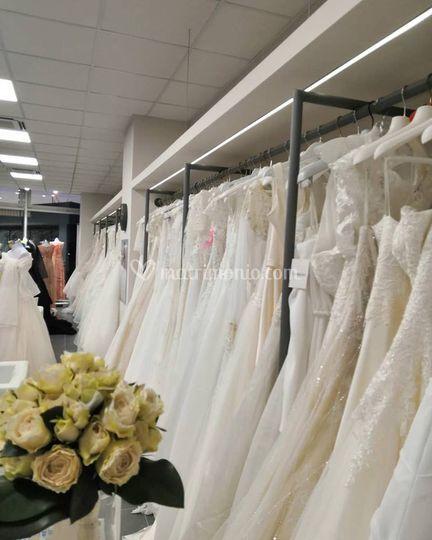 Interni atelier della sposa