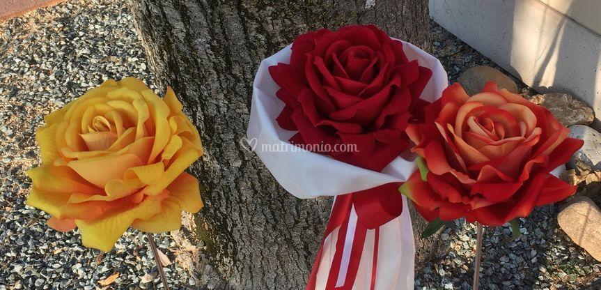 Rose per profumare e decorare