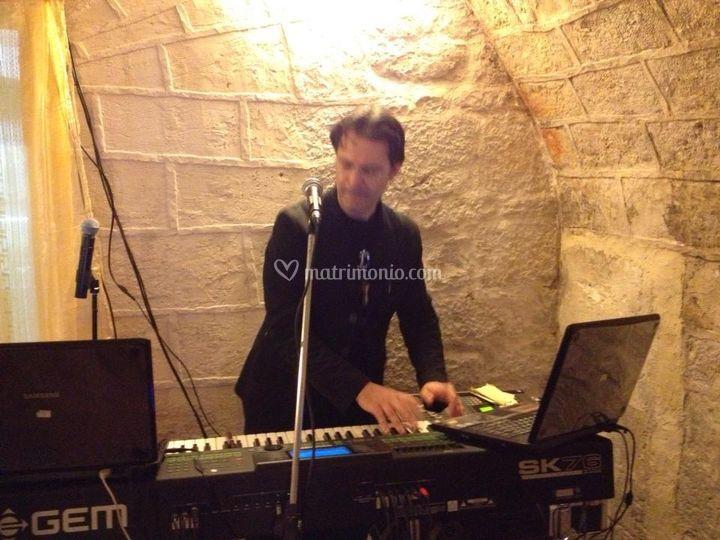 Roby e la sua mitica tastiera