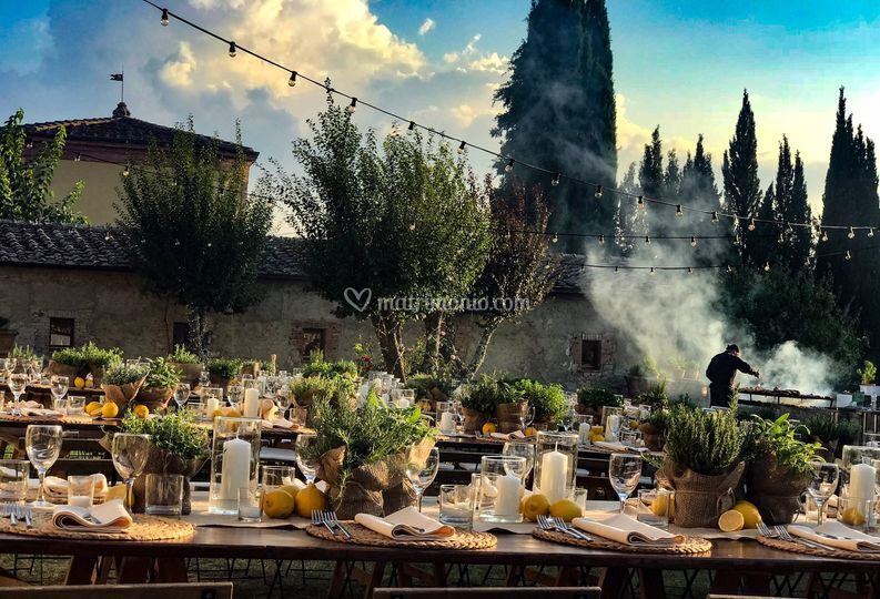 A tuscan Welcome Dinner