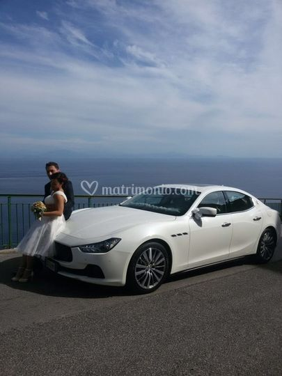 Maserati ghibli bianca