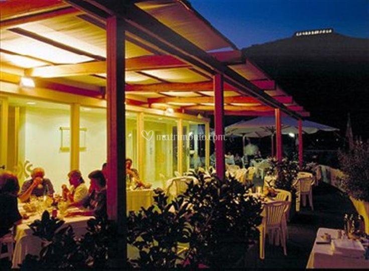 Roof Garden by night