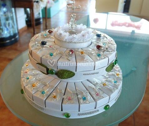 """Torta"" di bomboniere"