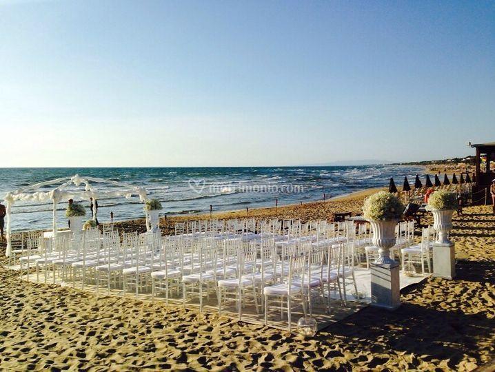 Matrimonio Al Mare Toscana : Addobbi edelveiss