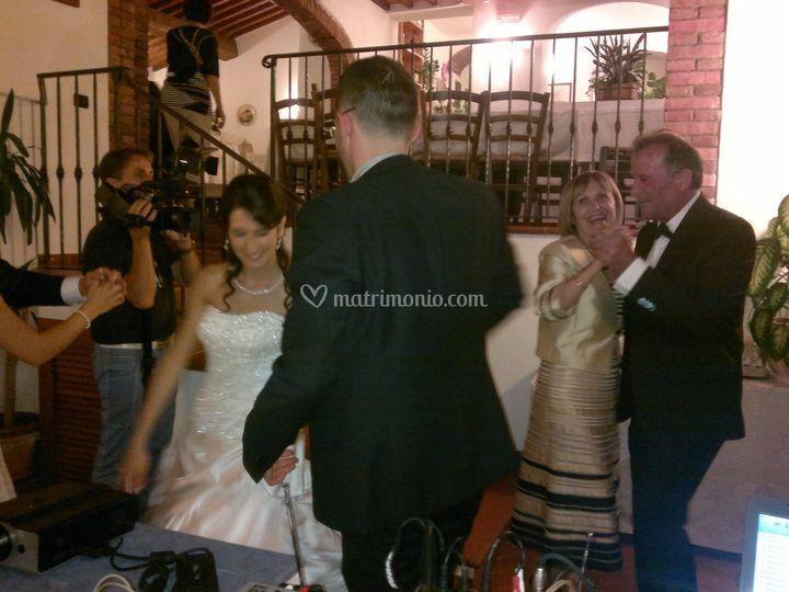 Ballo durante la cerimonia