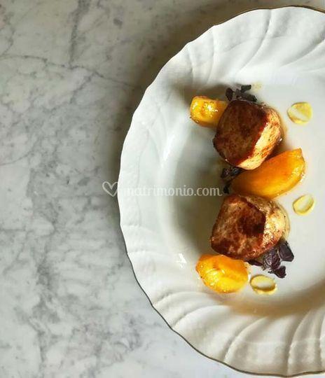 Filetto, senape Dijon e shiso