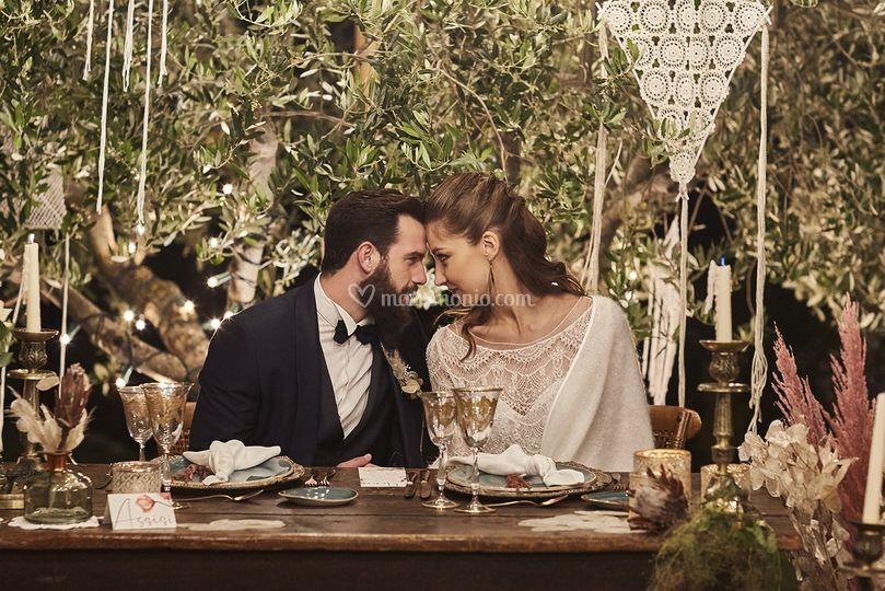 Matrimonio nel verde