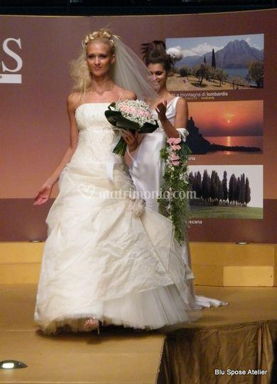 Abito Blu spose atelier