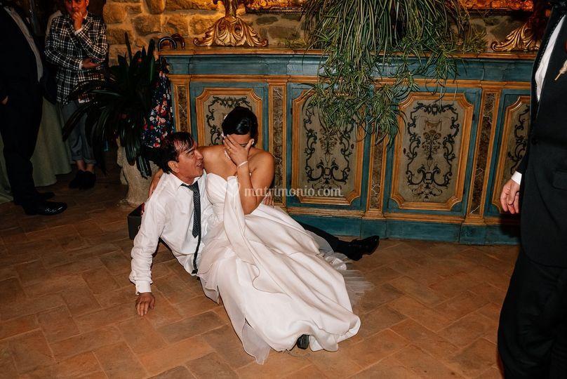Sposa a terra