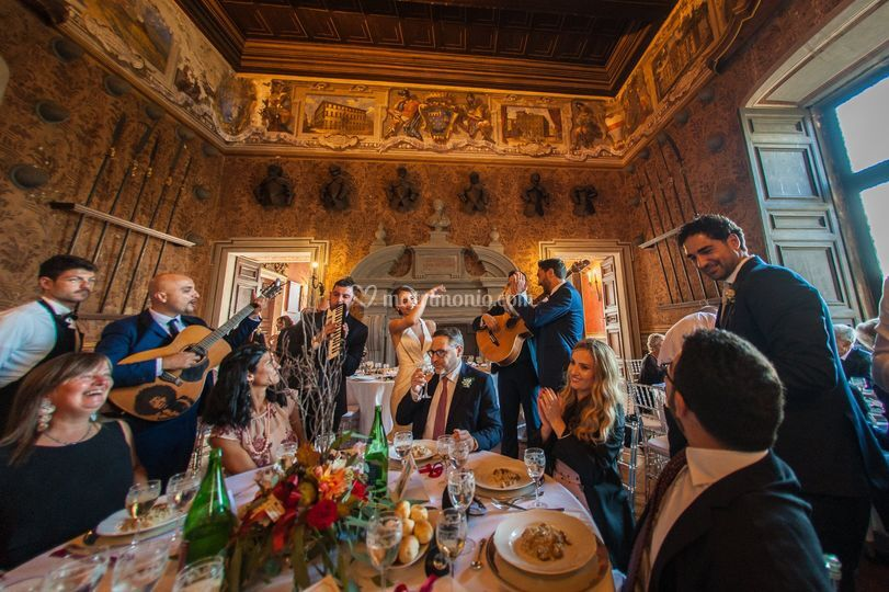 In sala (Castello Lancillotti)