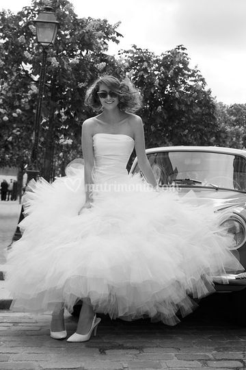 White couture collection