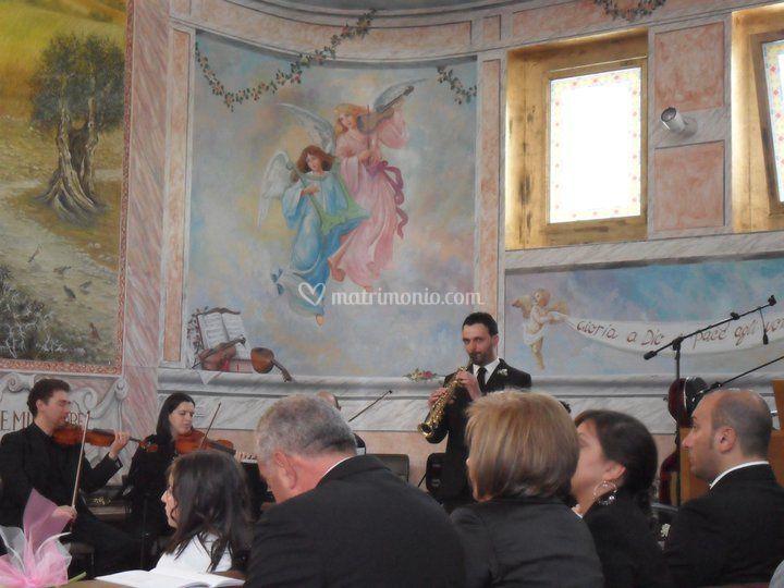 Eventi musicali durante la cerimonia