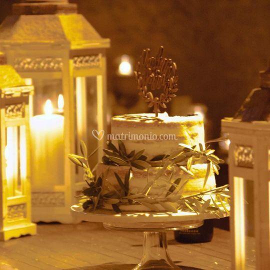 Oliver Wedding cake