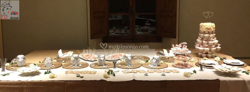 Romantic Sweets Table
