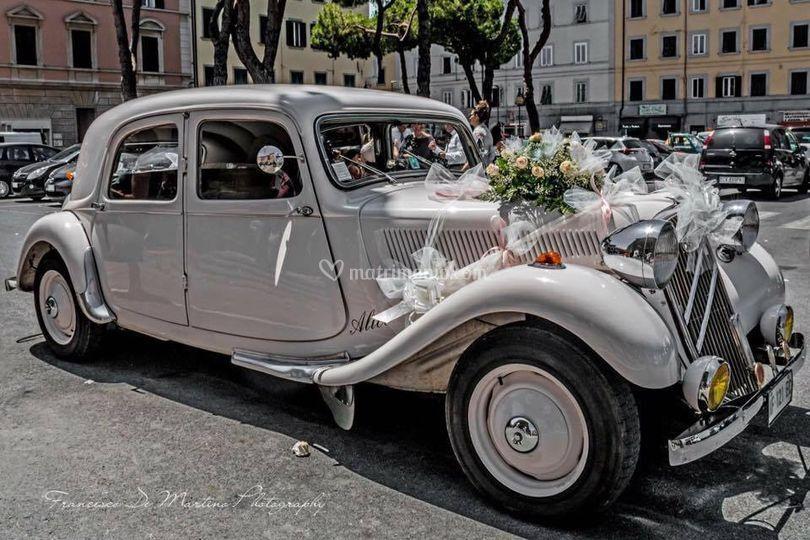 Macchina sposa luglio