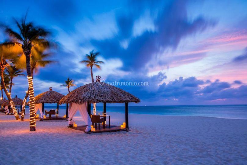 Romanticismo ad Aruba