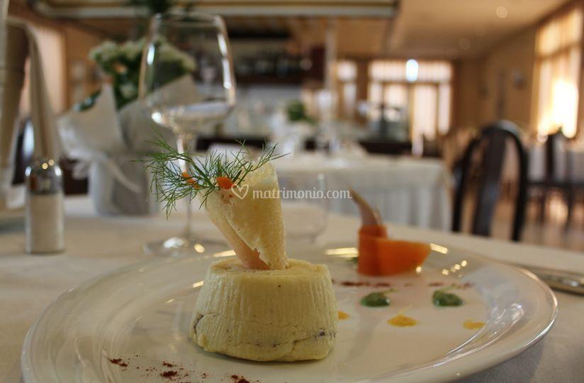 Presentazione del piatto