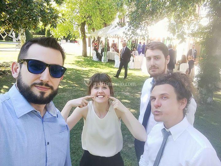 Selfie at Wedding