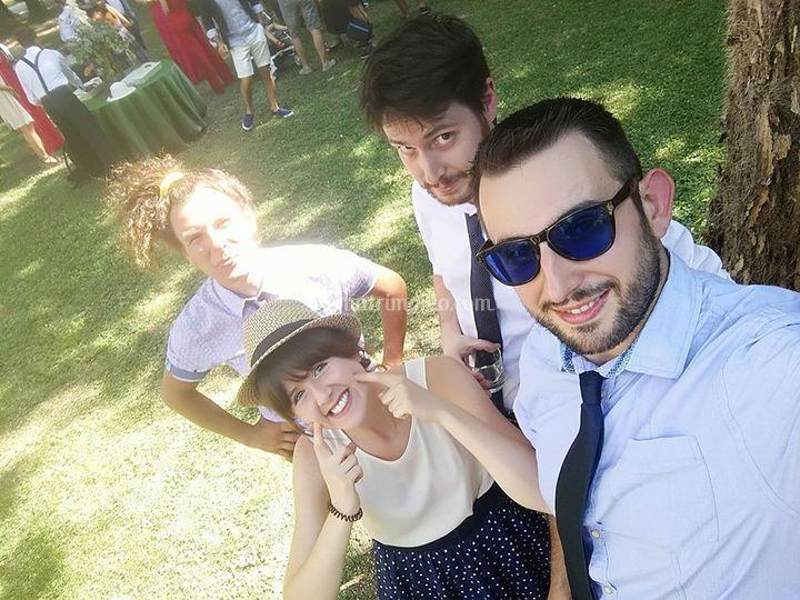 Selfie at wedding!