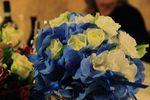 Bouquet orthensia blu