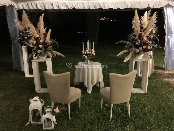 La cerimonia di sera