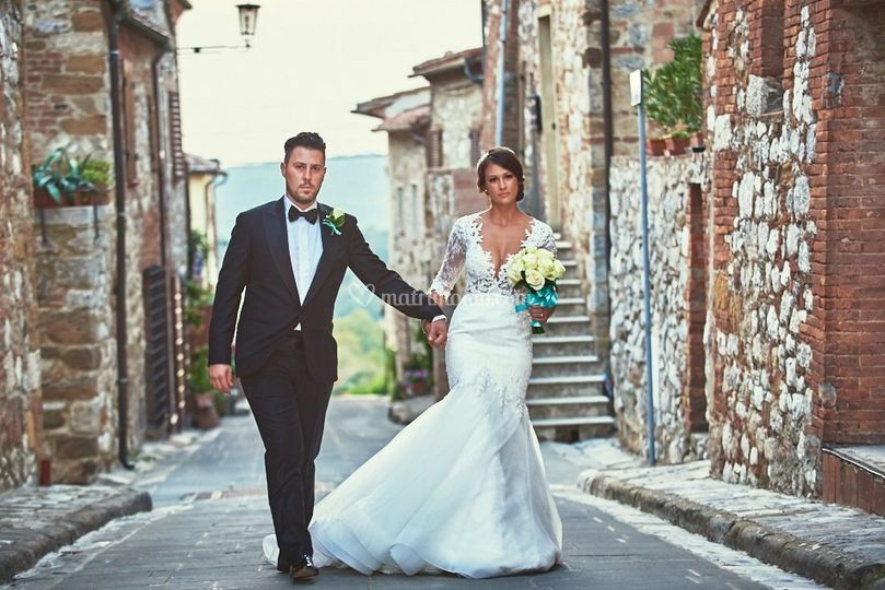 Montefollonico matrimonio M&V