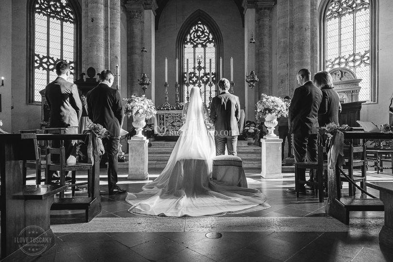 Belissimo matrimonio a Pienza
