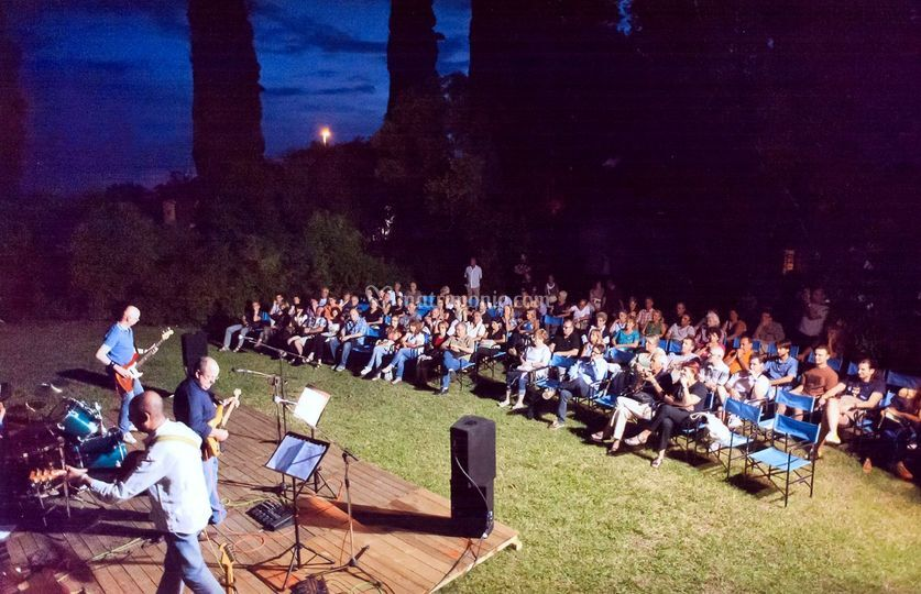 In concerto a Fiumicello (UD)