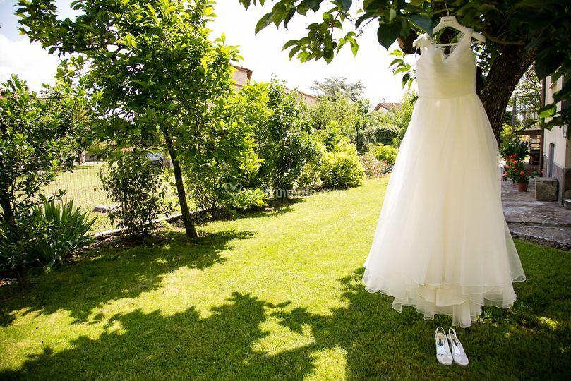 Il vestito attende