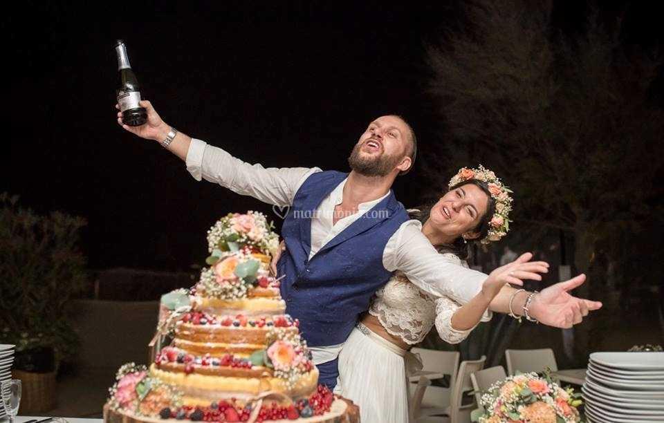 BBK  wedding cake