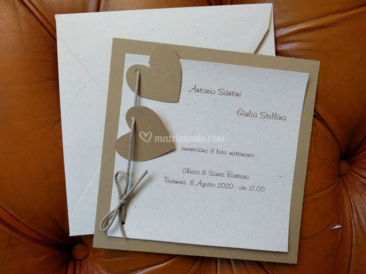 Partecipazione di nozze n. 102