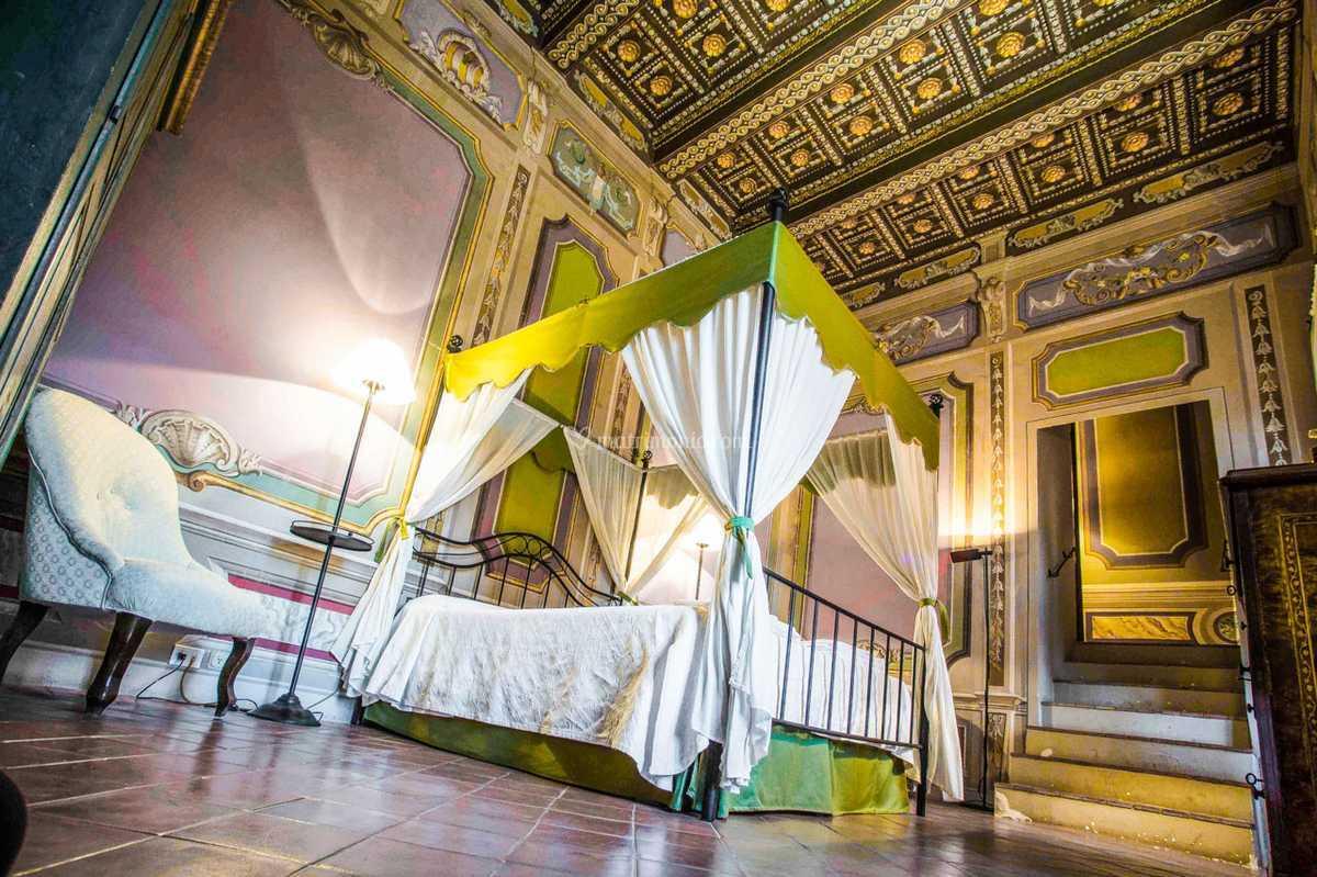 Camere Con Letto A Baldacchino.Camera Con Letto A Baldacchino Di Castello Costaguti Foto 19