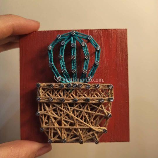 Bomboniere homemade - Arsa String Art