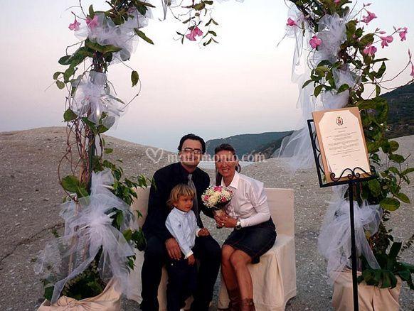 Sposi presso Hotel Barsalini