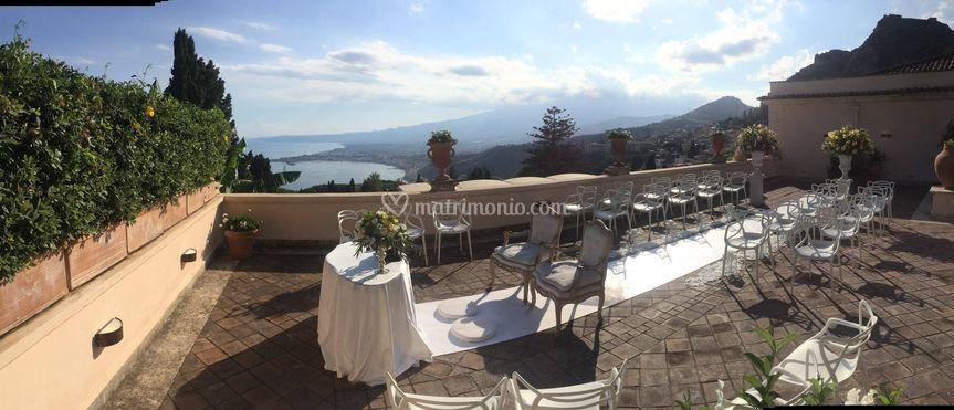 Taormina wedding celebration