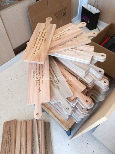 Tagliere personalizzato legno