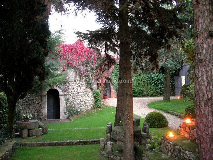 Vista dell'ingresso
