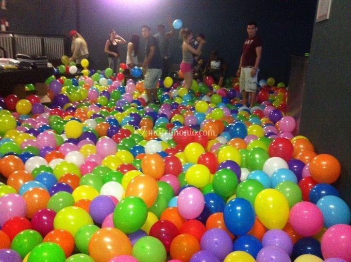 3000 palloncini addobbo