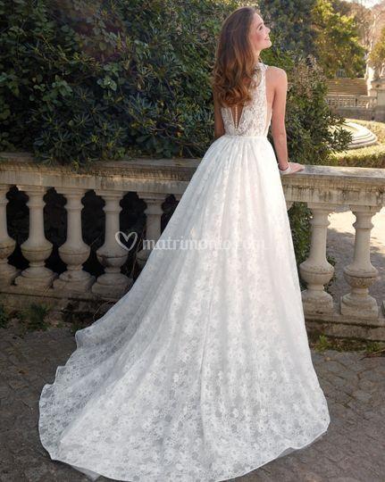 Delsa couture - medello d3000 b - collezione 2020
