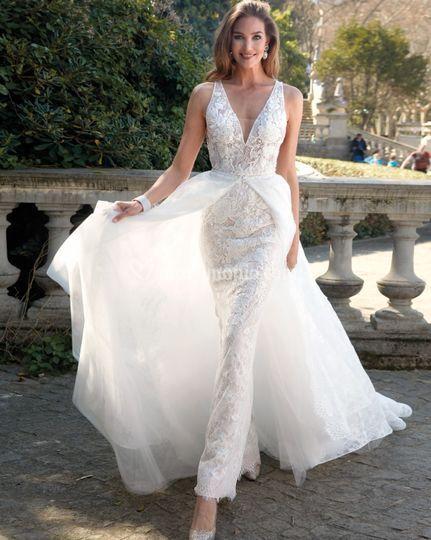 Delsa couture - medello d3000 - collezione 2020