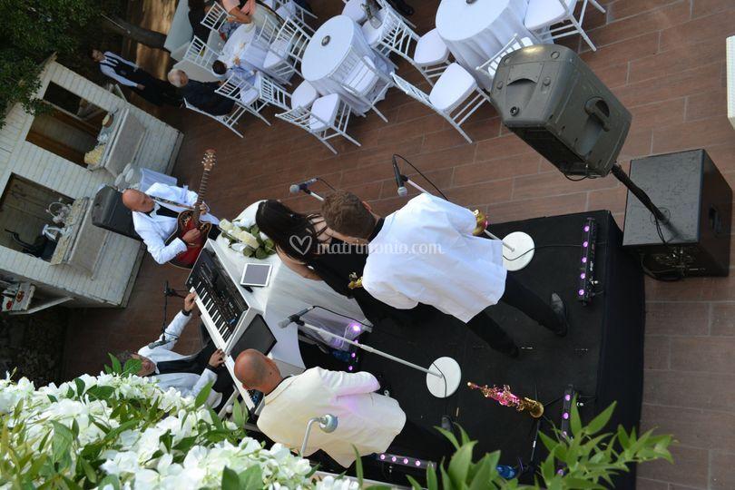 Quintetto wedding event