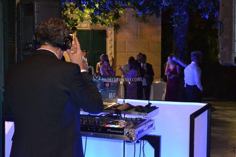 Dj-set luxury event