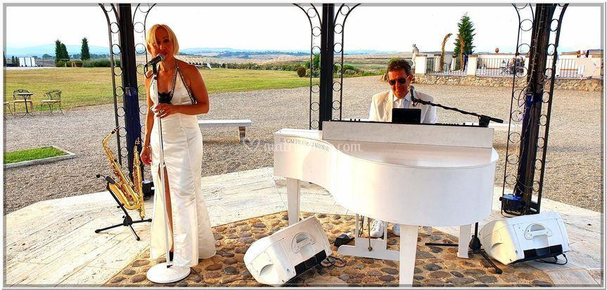 Luxury piano sax