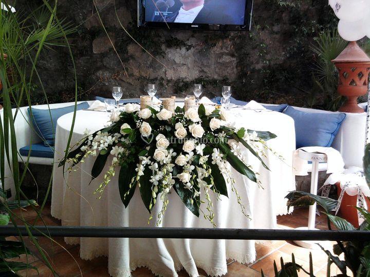Centrotavoli ristorante Ischia