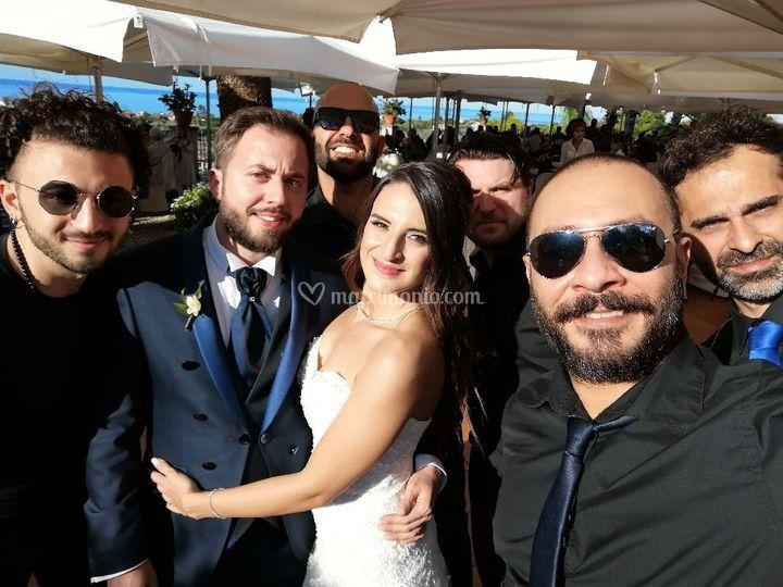 Selfie con gli Sposi