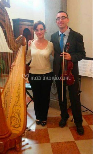 Duo violino e arpa