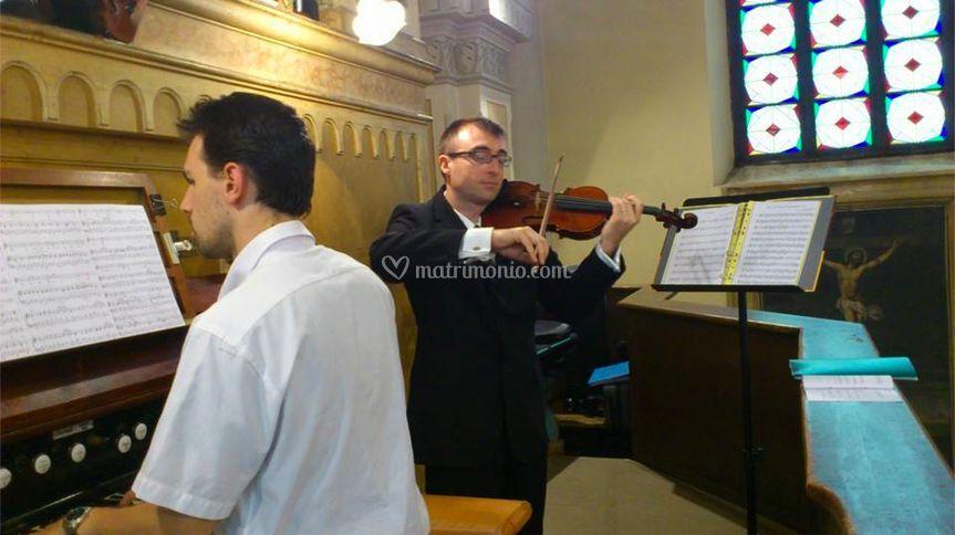 Violino ed organo