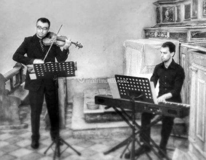 Violino e tastiera