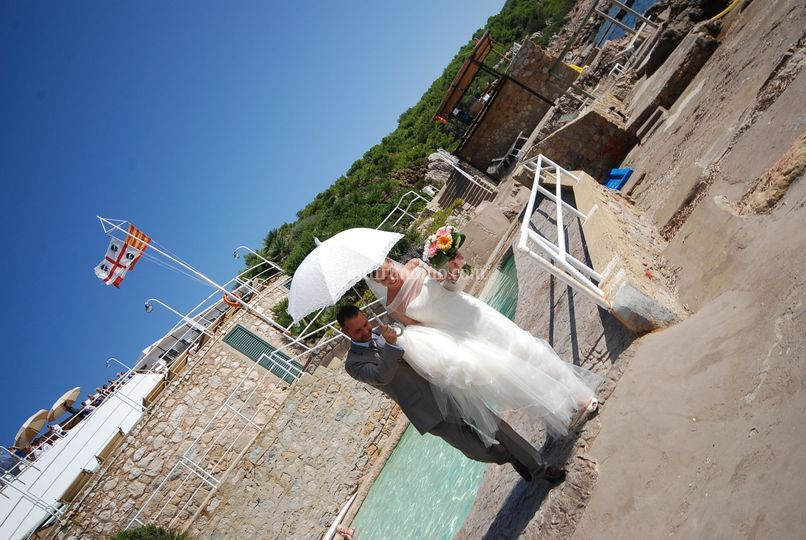 Wedding in Sardinia on the sea