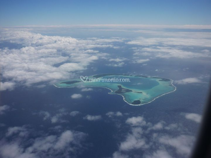 La Polinesia dal cielo